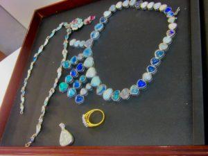 opal ring 1 opal necklace 1 opal pendant.