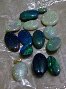 opal gemstones 1 parcel of Australian opals.