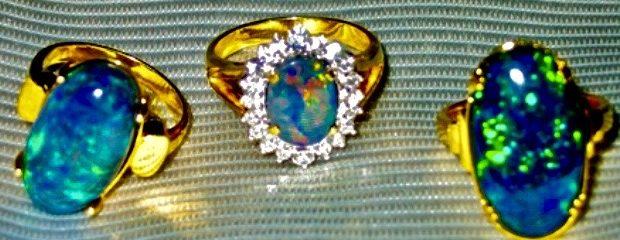 Image Opal Gemstones.